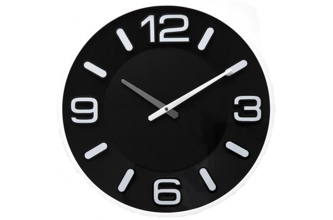 horloge kare design noire horloge design pas cher. Black Bedroom Furniture Sets. Home Design Ideas