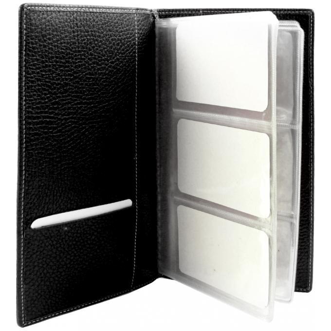 Porte cartes en cuir format cartes de visite l 39 aiglon petite maroquinerie homme - Porte carte de visite cuir ...