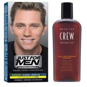 Just For Men - COLORATION CHEVEUX & SHAMPOING Châtain Clair - Coloration homme chatain clair