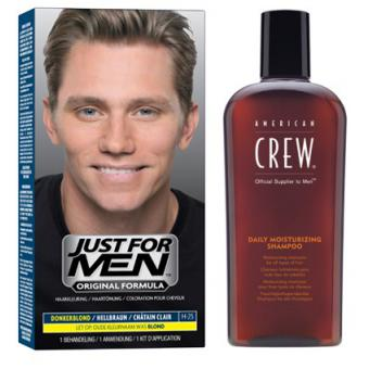 Just For Men - COLORATION CHEVEUX & SHAMPOING Châtain Clair - Promotions