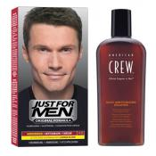 Just For Men - COLORATION CHEVEUX & SHAMPOING Châtain - Coloration Cheveux/ Barbe HOMME Châtain