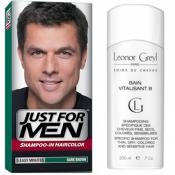 Just For Men Homme - COLORATION CHEVEUX & SHAMPOING Châtain Foncé -  - JUST FOR MEN