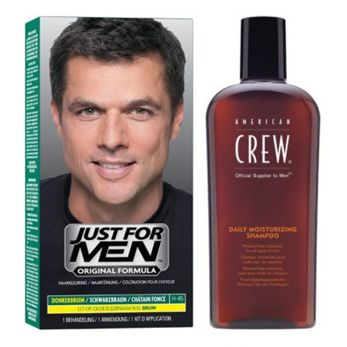 coloration cheveux shampoing chtain fonc - Shampoing Colorant Homme