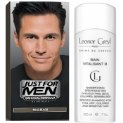Just For Men Homme - COLORATION CHEVEUX & SHAMPOING Noir Naturel -  - JUST FOR MEN