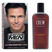Just For Men - COLORATION CHEVEUX & SHAMPOING Noir Naturel - Coloration just for men