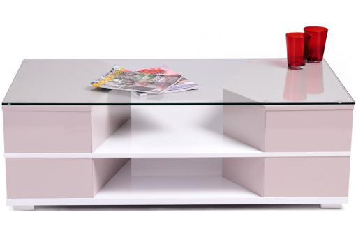 table basse verre trempe joan. Black Bedroom Furniture Sets. Home Design Ideas