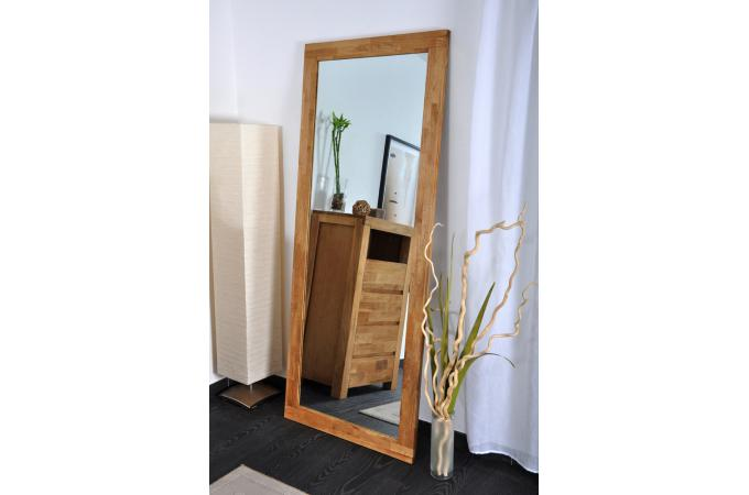 Miroir ch ne huil miroir rectangulaire pas cher for Grand miroir pas cher