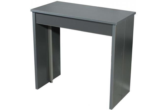 Console extensible 3 allonges grise table console pas cher - Table console extensible pas cher ...