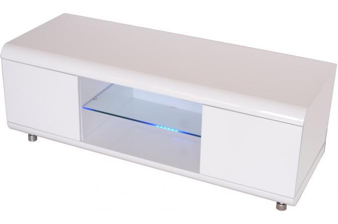 Meuble tv laqu blanc meuble tv pas cher for Meuble asiatique blanc