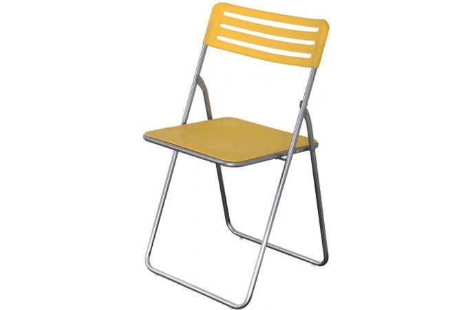 chaise pliante jaune lot de 6 chaise pliante pas cher. Black Bedroom Furniture Sets. Home Design Ideas