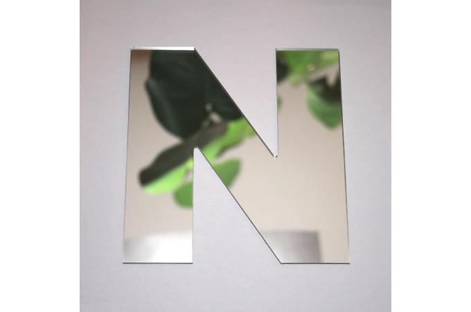 Miroir n argent en verre teri h 8 cm miroir rond et for Miroir argente pas cher