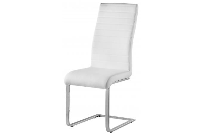 chaise blanche design penelope deco design. Black Bedroom Furniture Sets. Home Design Ideas