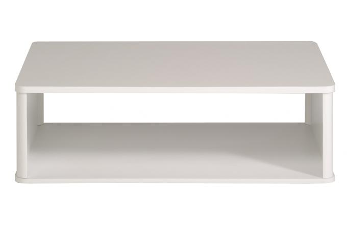 table basse blanche plaqu bois rubis table basse pas cher. Black Bedroom Furniture Sets. Home Design Ideas