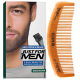 Just For Men - PACK COLORATION BARBE ET PEIGNE BARBIER Châtain Foncé