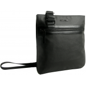 Azzaro Maroquinerie - SACOCHE PORTE CROISE PLAT SIROCCO - Sac HOMME Azzaro Maroquinerie