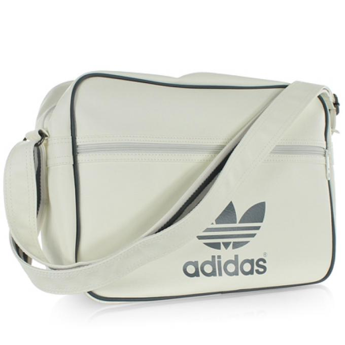 Adidas sacs Airliner Blanc Bandouliere Besaces Sac Originals Jc1FKl