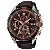Casio - Montre Casio EFR-539L-5AVUEF - Montre homme cuir