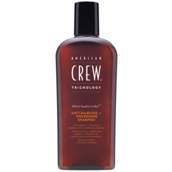SHAMPOING ANTI-HAIR LOSS + THICKENING SHAMPOO American Crew