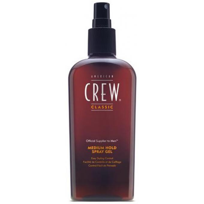 medium hold spray gel spray gel fixation souple american crew gel cire cheveux homme. Black Bedroom Furniture Sets. Home Design Ideas