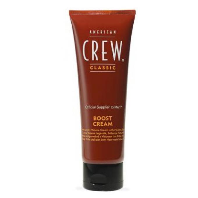 boost cream cr me coiffante structure brillance satin e american crew gel cire cheveux homme. Black Bedroom Furniture Sets. Home Design Ideas