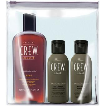 GROOMING KIT - Shampoing 3 en 1, Post Shave Lotion, Shave Gel
