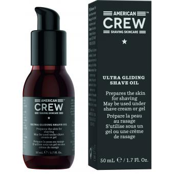 American Crew - ULTRA GLIDING SHAVE OIL - Promotions Rasage HOMME
