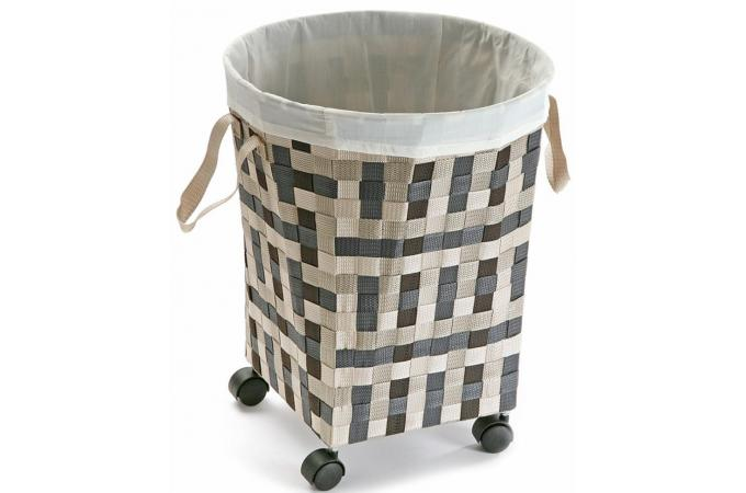 panier linge transportable panier linge pas cher. Black Bedroom Furniture Sets. Home Design Ideas