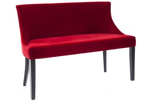 Banquette divan kare design boudoir rouge banquette for Banquette meridienne design