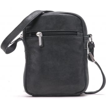SAC TRAVERS A ZIP - Cuir de vachette - Mode