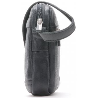 SAC TRAVERS DESTROY - Cuir de vachette souple - Elegant