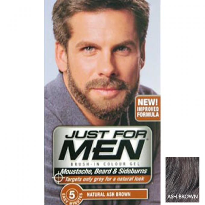 just for men coloration barbe chtain cendr coloration just for men - Coloration Barbe Grande Surface