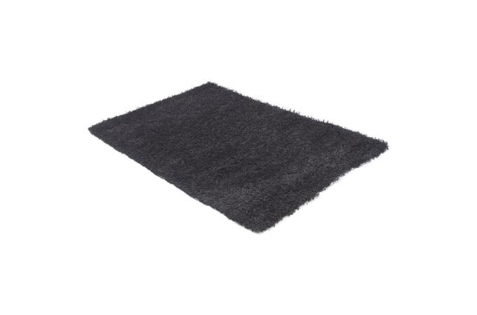 Tapis gm noir en polypropyl ne suzette tapis design pas cher - Tapis en polypropylene ...