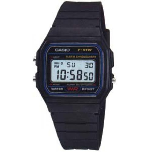 Montre Homme F-91W-1YER Casio Collection