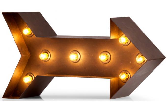 Lampe fleche lampe murale pas cher for Decoration murale fleche