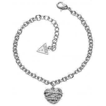 Bracelet Chainette Cœur - Guess Bijoux - Guess