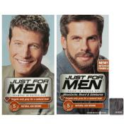 Just For Men Homme - DUO COLORATION CHEVEUX & BARBE Châtain Cendré - Coloration Cheveux/ Barbe