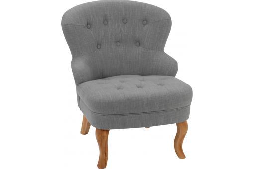 petit fauteuil alfred gris fauteuil design pas cher. Black Bedroom Furniture Sets. Home Design Ideas
