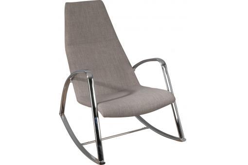 Rocking Chair Beige Fonc Fauteuil Design Pas Cher