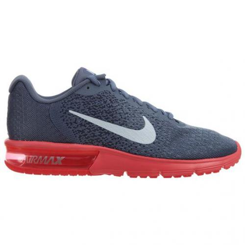 Nike - Sneaker Air max Nike homme - Gris et Rouge - Promotions