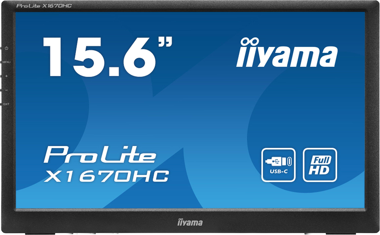 Moniteur portable 15,6'' ProLite X1670HC-B1 Iiyama