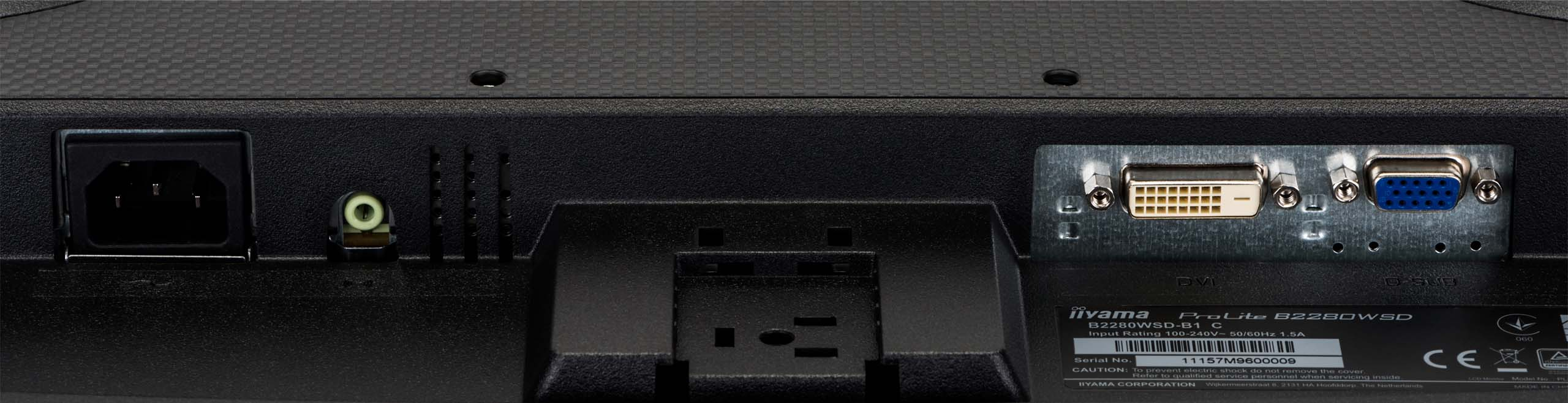 Écran PC bureautique Prolite B2280WSD-B1 Iiyama
