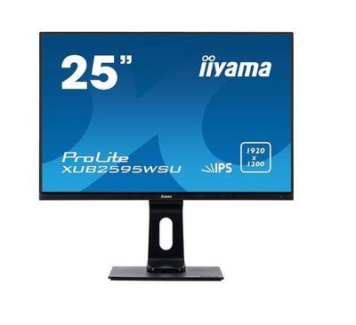 Iiyama 25 pouces LED ProLite XUB2595WSU-B1 resolution 1920x1200