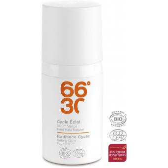 66°30 - SERUM VISAGE CYCLE ECLAT - COSMETIQUE BIO HOMME