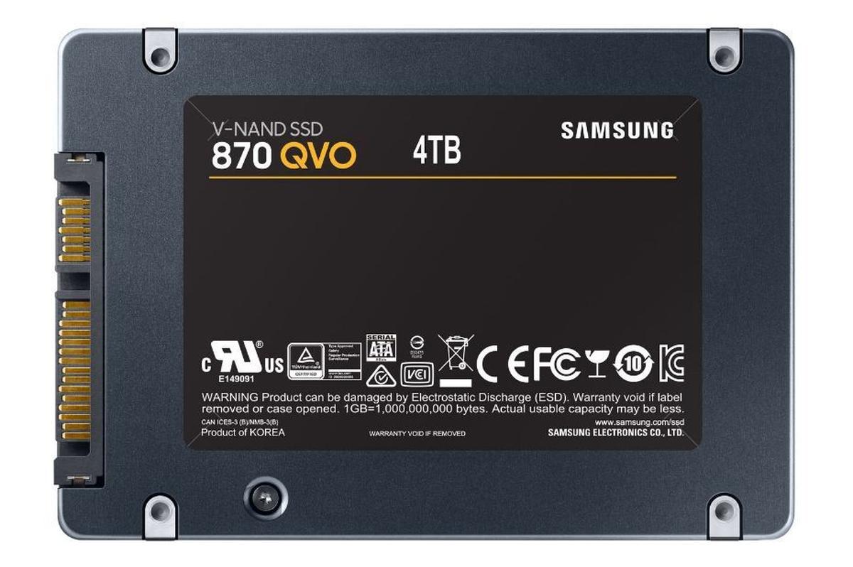 Disque SSD 870 QVO 4 Tb Sata III 2.5