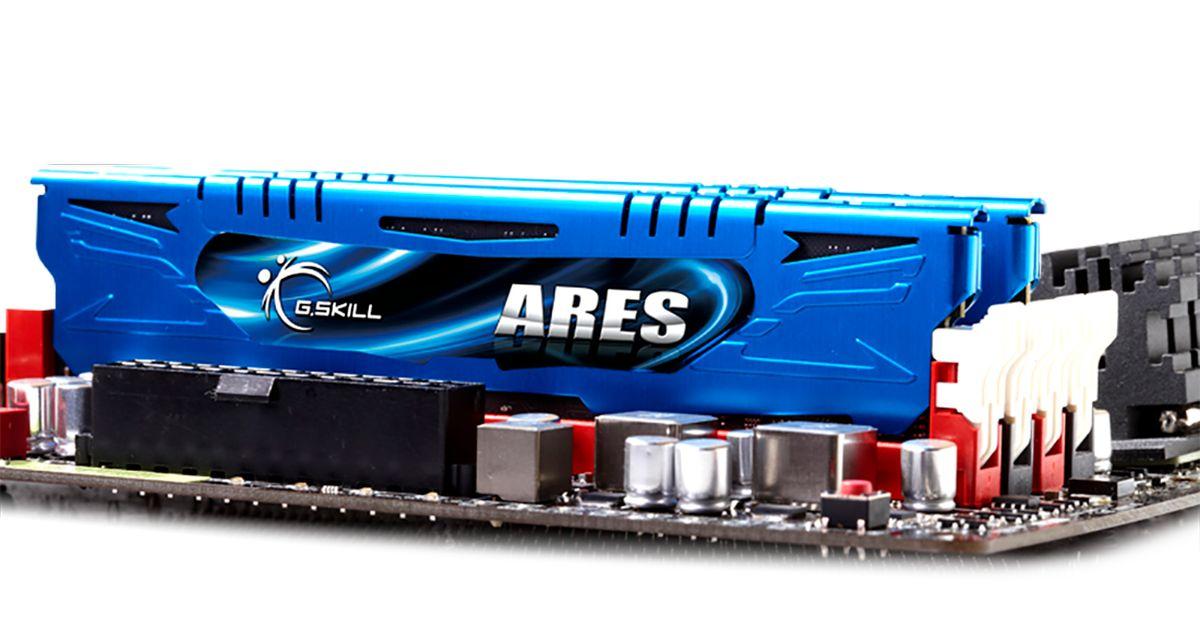 Ares Low Profile 8 Go DDR3 2400 MHz - Bleu