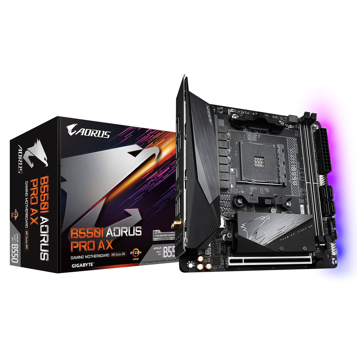 AMD B550I AORUS PRO AX