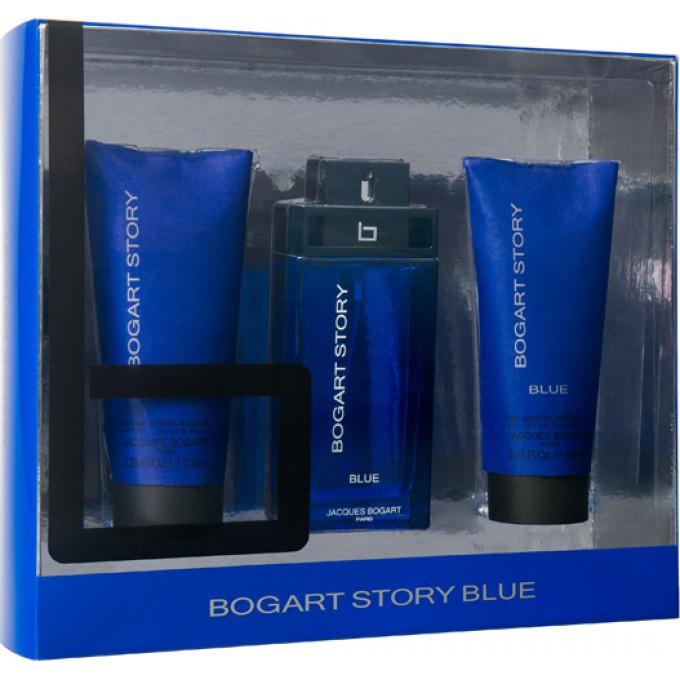 Coffret bogart story blue bogart parfums gel douche d odorant homme - Coffret gel douche homme ...