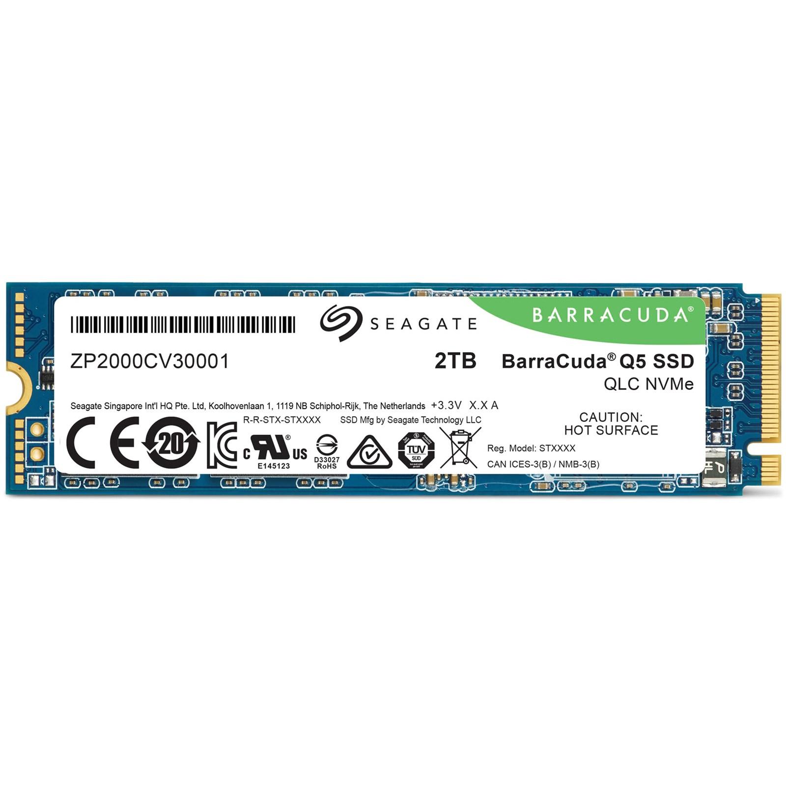 Disque SSD interne BarraCuda Q5 2 To M.2 Seagate