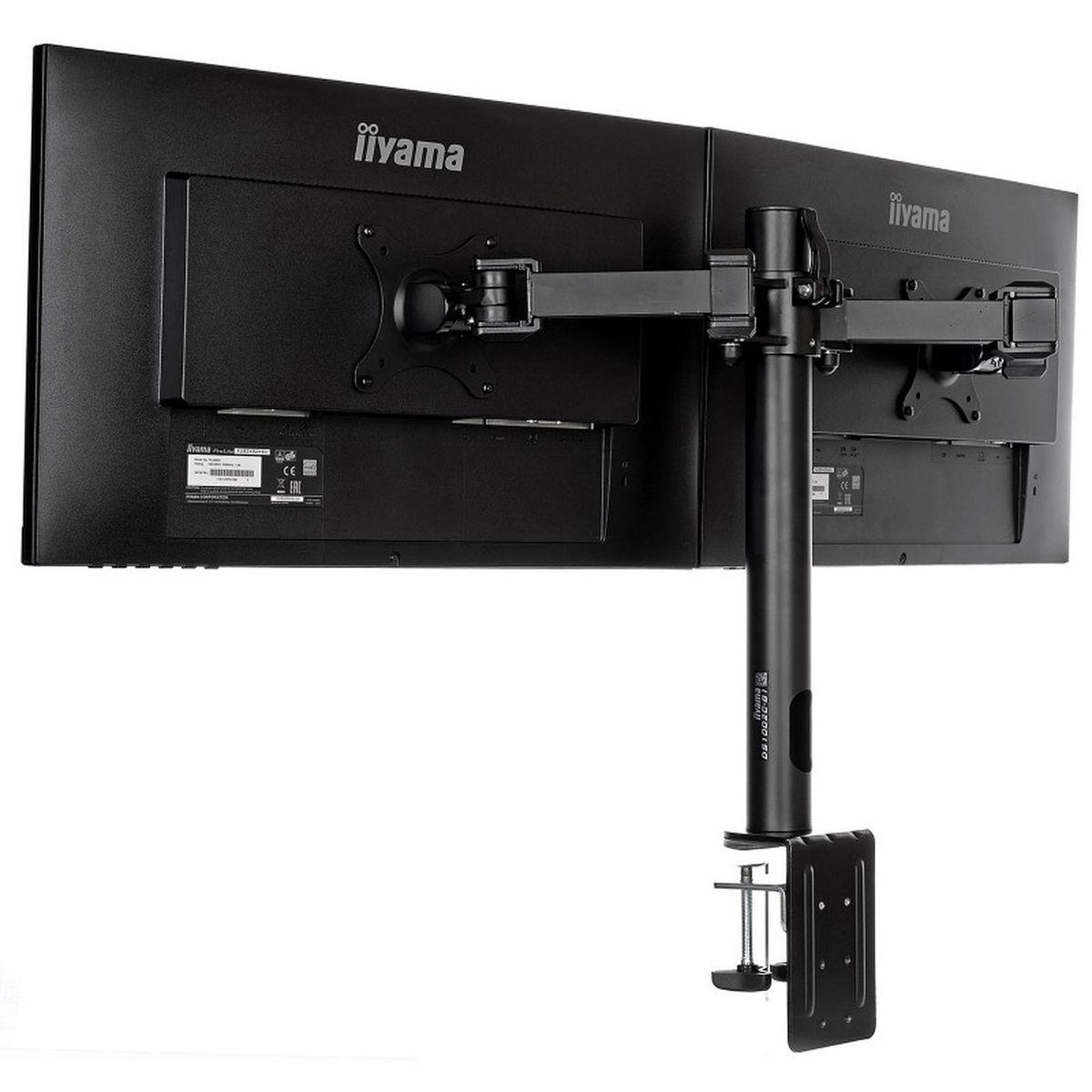 Bras pour deux écrans bureautiques - DS1002C-B1