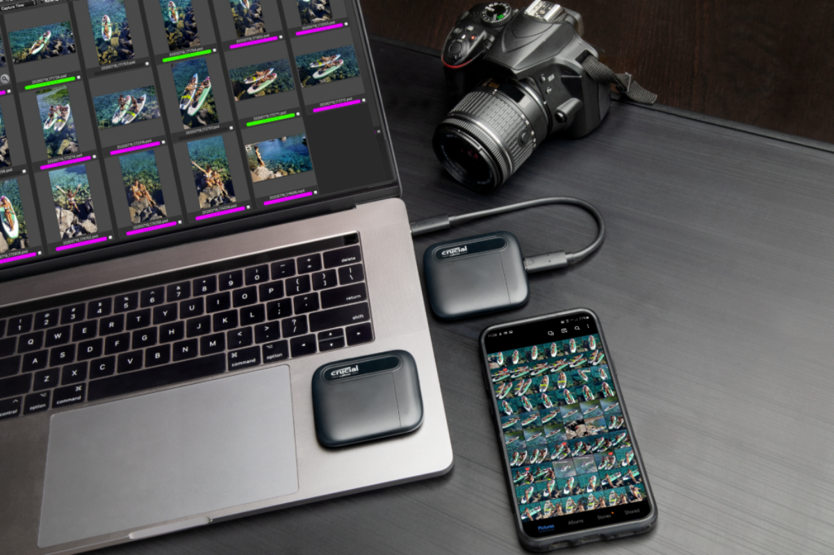 Disque SSD portable X6 1 TB Crucial